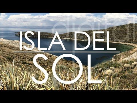 Isla del Sol in Titicaca Lake, Bolivia