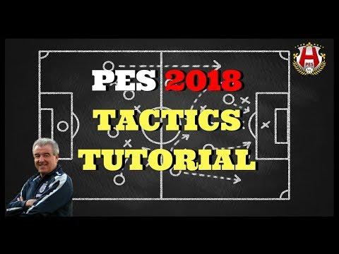 PES 2018 Tactics Tutrorial