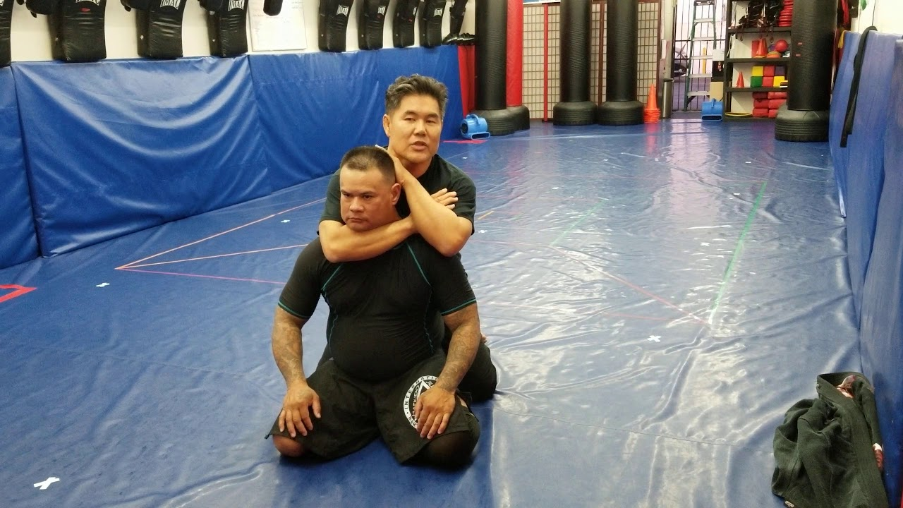 Submissions: The Rear Naked Choke - YouTube