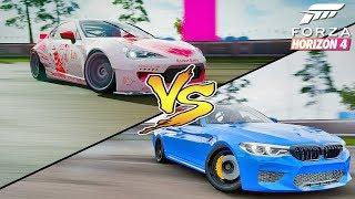 ЯПОНЕЦ ПРОТИВ НЕМЦА - Forza Horizon 4. Как попасть в топ 1000?!