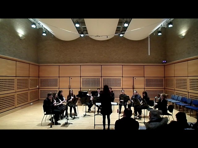 Blowsoc Clarinet Ensemble: Away in a Manager