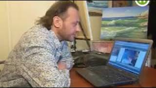 Уроки живописи online от Сахарова Игоря Репортёрflv 1 1