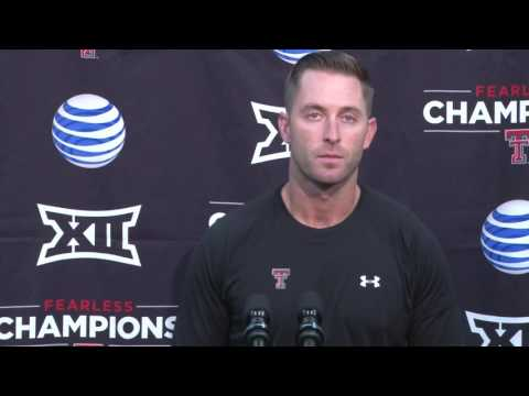Monday Press Conference: Kliff Kingsbury