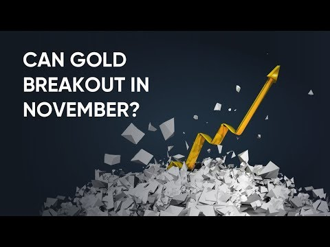 Gold Chart Analysis for November 2019 | Breakout or Still in Range?