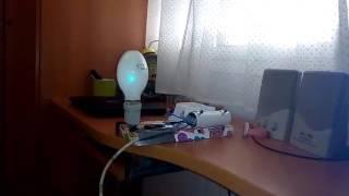Probando luz HQL (MBF-U) nueva 80w osram casquillo E 27