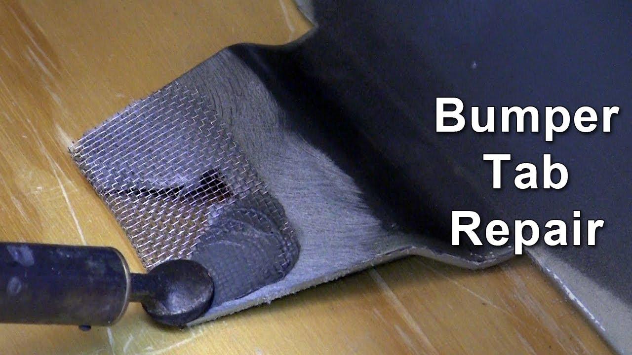 Front Bumper Repair >> Bumper Tab Repair - YouTube
