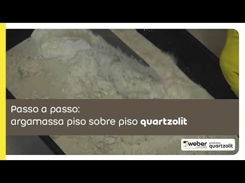 Argamassa piso sobre piso quartzolit
