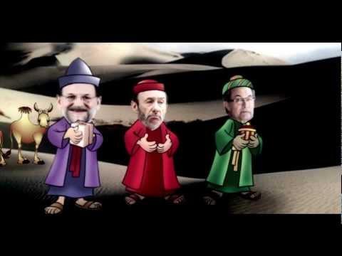 Los Tres Reyes Magos - Cabalgata con Mariano Rajoy, Alfredo Rubalcaba y Artur Mas - 2013