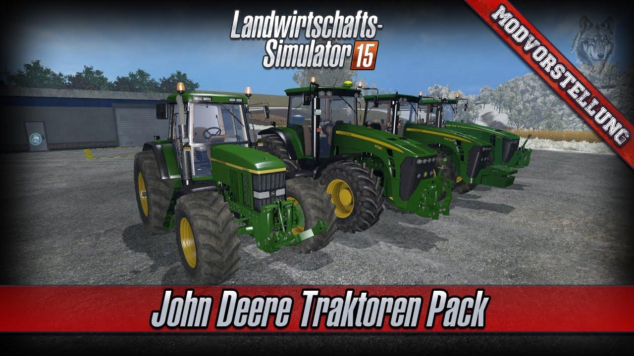 LS 15 Modvorstellung 76  John Deere Traktoren Pack  7810