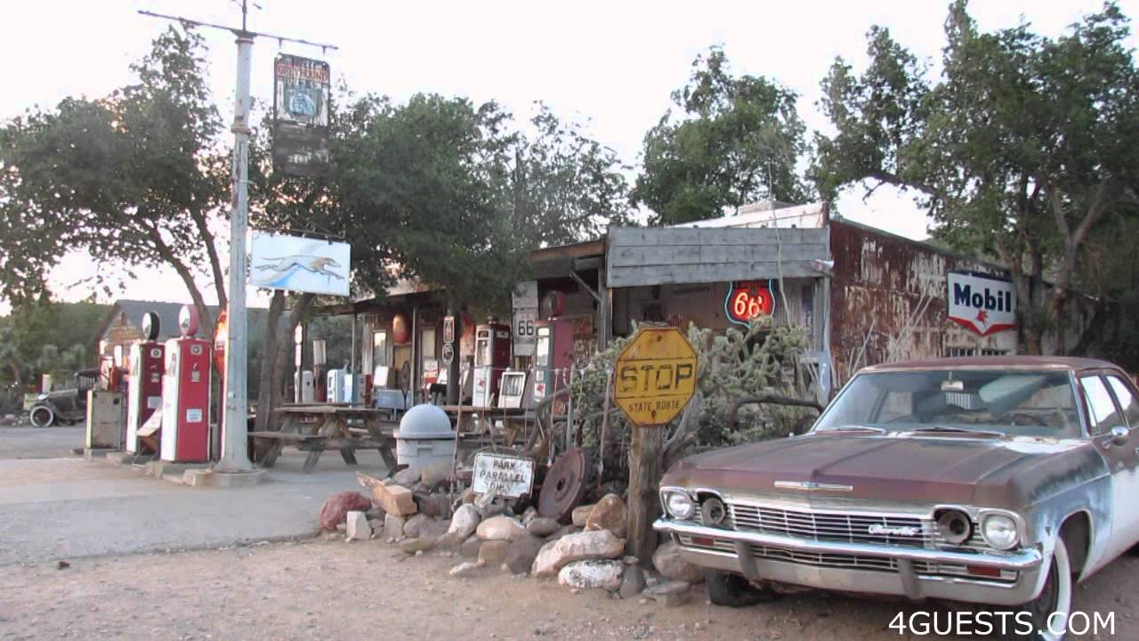 HACKBERRY ARIZONA And General Store Route YouTube - Route 66 youtube