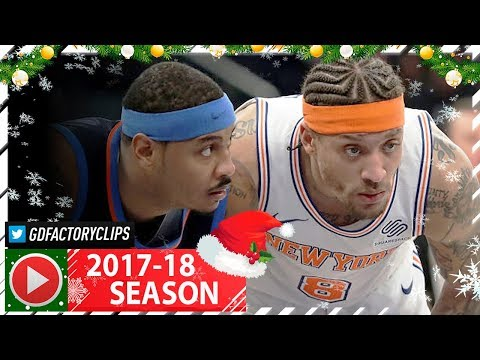 Michael Beasley Full Highlights vs Thunder (2017.12.16) - 30 Pts vs Carmelo!