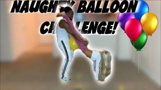 Balloon Pop Challenge!| Charles & Alyssa Forever