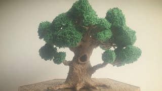 3D Pen Creations | Making a realistic tree | 3D Pen Art(Buy a Scribbler 3d pen, use my promo code
