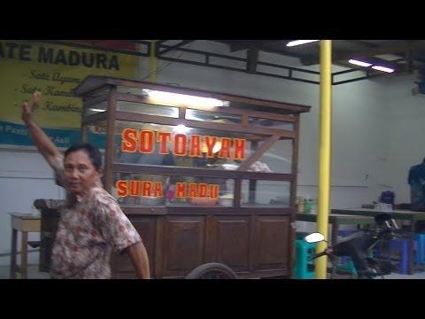 Jakarta Street Food 272 Suramadu Chicken Soup Soto Ayam Suramadu