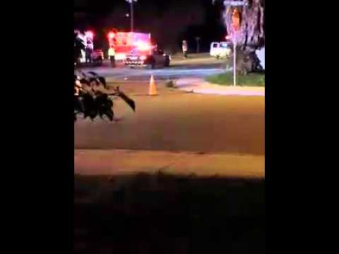 Raw Video: Edinburg Accident