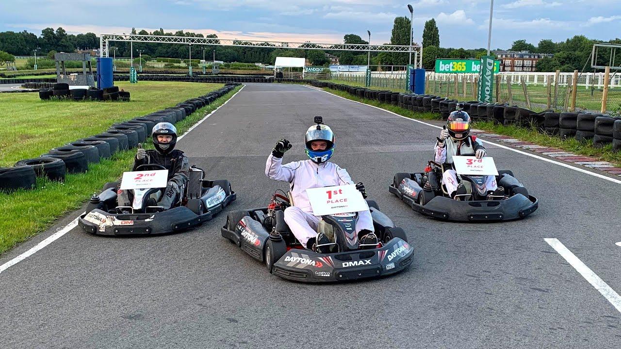 Racing Subscribers in 70mph Karts! Daytona Sandown Park D-Max