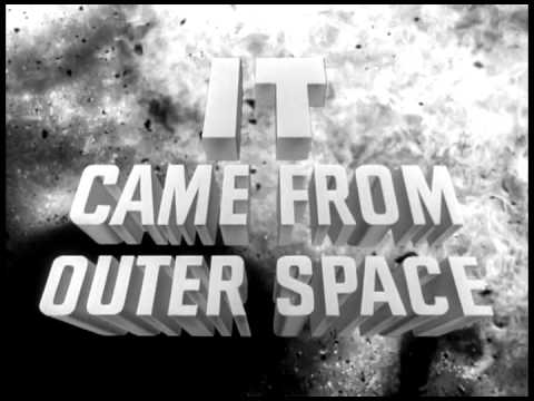 It came from outer space opening youtube for Watch it came from outer space