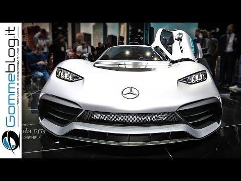 Mercedes AMG Project ONE 1000 HP - Los Angeles WORLD PREMIERE