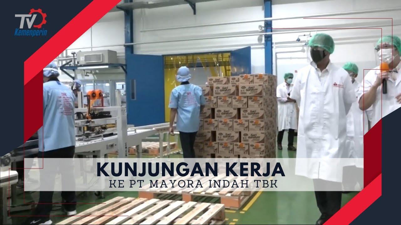 Download Kunjungan Kerja Menteri Perindustrian ke PT Mayora Indah Tbk
