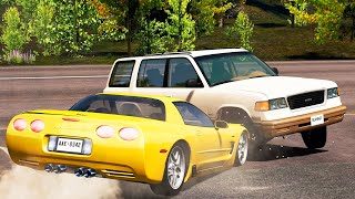 Luxury & Super and Hyper Car Crashes Compilation #61  BeamNG Drive