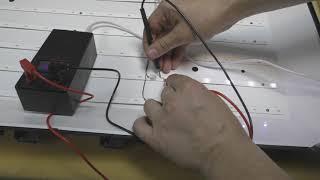 ремонт телевизора supra stv-lc32510wl, ремонт подсветки+ проявился дефект матрицы