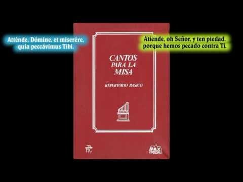 Atténde, Dómine (''Atiende, oh Señor'') - Canto gregoriano - Canto de Cuaresma