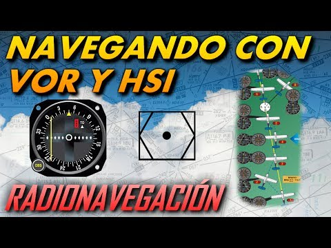 Navegación con VOR y HSI | Radionavegación |