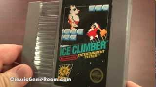 Polar Vectrex! ICE CLIMBER for NES review announcement. Classic Game Room!