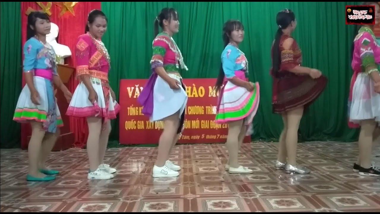 Múa Mông nhạc không lời 999 Đóa hồng II Văn nghệ tổng kết 10 năm xây dựng  NTM xã Lùng Tám   Kho nhạc không lời hay nhất - Kênh nhạc ru