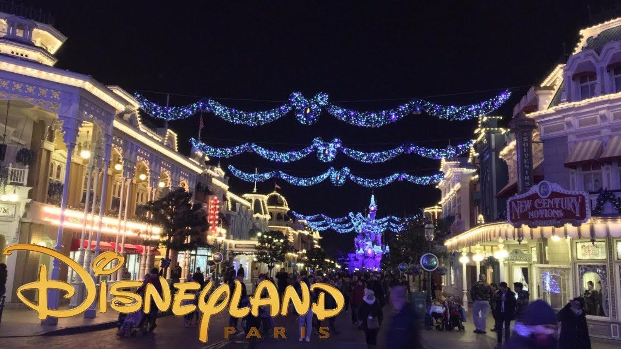 Christmas In Disneyland Paris.Christmas 2017 At Disneyland Paris