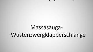 How to say desert locusts in German?