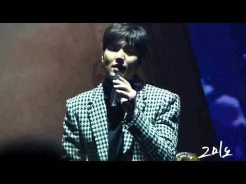 """160116 Lee Min Ho 1st Talk Concert """"그때처럼"""""""