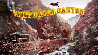 The Ogden Canyon Trolley and flaming fun birthday!!