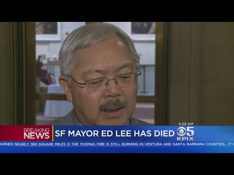 MAYOR LEE DIES:  San Francisco ed lee