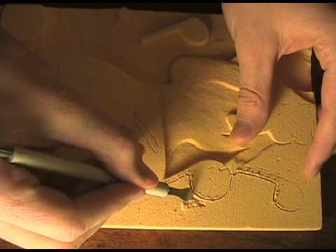 Balsa foam carving demo youtube