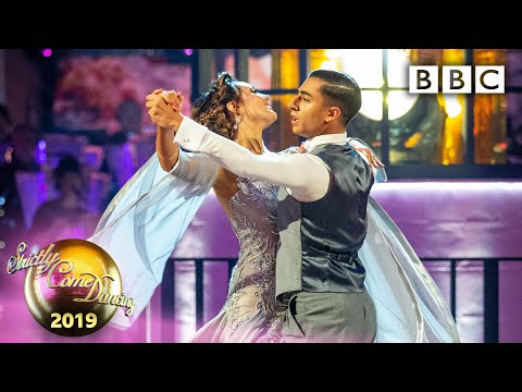 Karim and Amy Viennese Waltz to 'Give Me Love' - Week 8 | BBC Strictly 2019