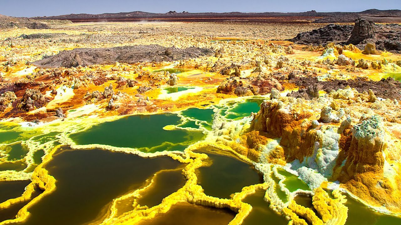 Top 10 Unusual Landscapes In The World Youtube