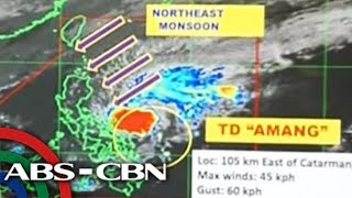 WATCH: PAGASA 5PM Update on Tropical Depression 'Amang' | 21 January 2019