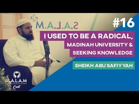 SALAMCast #16 | Abu Safiyyah |I Used To Be a Radical, Madinah Uni, Seeking Knowledge | w/ Ali Dawah