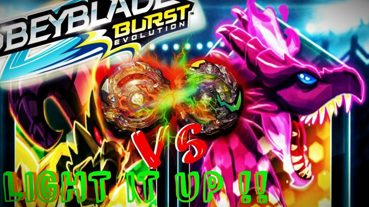 Our First Time With BEYBLADE BURST Evolution/Lets Light It Up