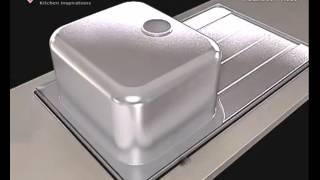 Врезка и установка кухонной мойки(Видео как самостоятельно врезать мойку в столешницу и установить ее., 2015-11-09T10:33:25.000Z)