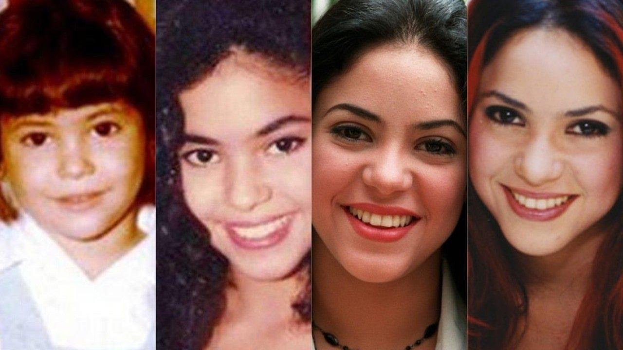 Shakira antes de ser estrella mundial