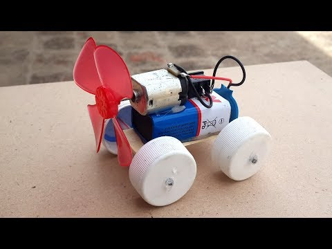 How to Make a Simple Electric Car using Waste Materials