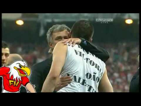 Bayern Munich 0-2 Inter Milan - Jose Mourinho Crying and Celebrations