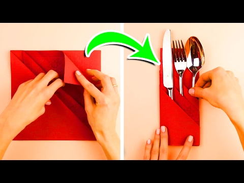 Thumbnail: 7 Napkin Folding Techniques That Will Blow Your Guests Away