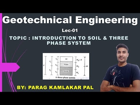 Topic No 1 : Origin of Soil & Clay | Basic Definations | Index Properties of Soil | GATE 2020