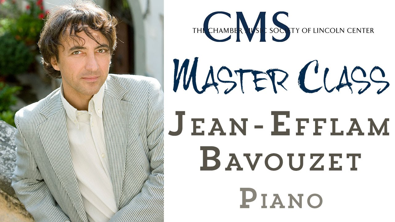 Master Class with Jean-Efflam Bavouzet