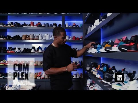 Complex Closets: Victor Cruz Shows Us His Crazy Sneaker Collection