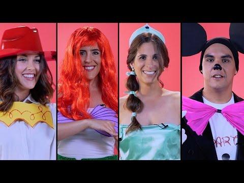 Gente recrea sus disfraces Disney de la infancia | Oh My Disney