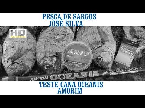 Pesca de Sargos José Silva-Teste Cana OCEANIS Amorim